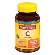 Nature Made Vitamin C, 1000 mg, Tablets