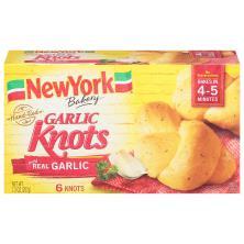 New York Garlic Knots, Hand-Tied