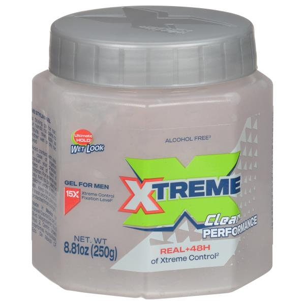 wet line xtreme reaction styling gel ultimate hold wet look 10