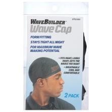 Spartan Wavebuilder Wave Cap, Black 2pk 653