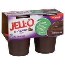 Jell O Pudding Snacks, Original, Chocolate Flavor