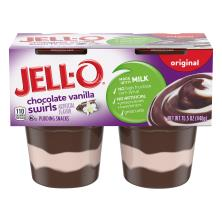 Jell O Pudding Snacks, Chocolate Vanilla Swirl