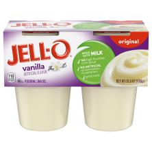 Jell O Pudding Snacks, Original, Vanilla