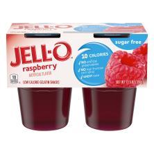 Jell O Gelatin Snacks, Low Calorie, Raspberry