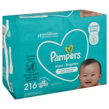 Pampers Wipes, Complete Clean, Unscented, 3 Pack