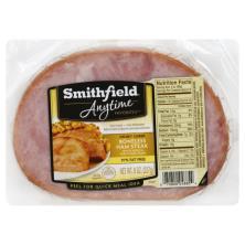 Smithfield Anytime Favorites Ham Steak, Boneless, Honey Cured