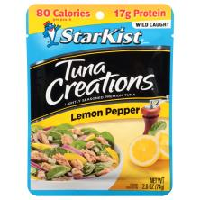 StarKist Tuna Creations Tuna, Chunk Light, Lemon Pepper
