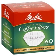 Melitta Coffee Filters, Single Serve