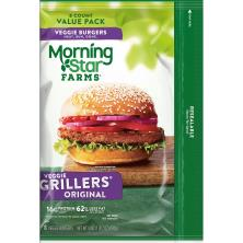 MorningStar Farms Burgers, Veggie, Grillers Original, Value Pack