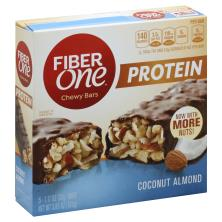 Fiber One Protein Chewy Bars, Coconut Almond