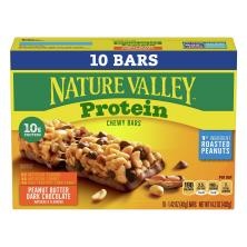 Nature Valley Protein Chewy Bars, Peanut Butter Dark Chocolate, Value Pack