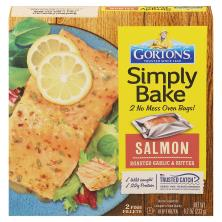 Gortons Simply Bake Salmon, Roasted Garlic & Butter
