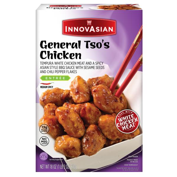 Innovasian Cuisine General Tso's Chicken, Medium Spicy