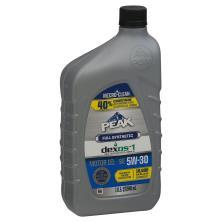 Peak Motor Oil, Full Synthetic, SAE 5W-30
