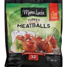 Mama Lucia Meatballs, Italian-Style Turkey
