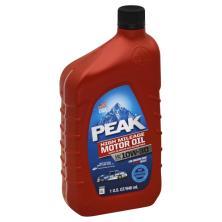 Peak Motor Oil, High Mileage, SAE 10W-30