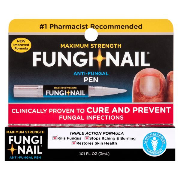 Fungi Nail Anti-Fungal, Maximum Strength, Skin Penetrating Solution ...