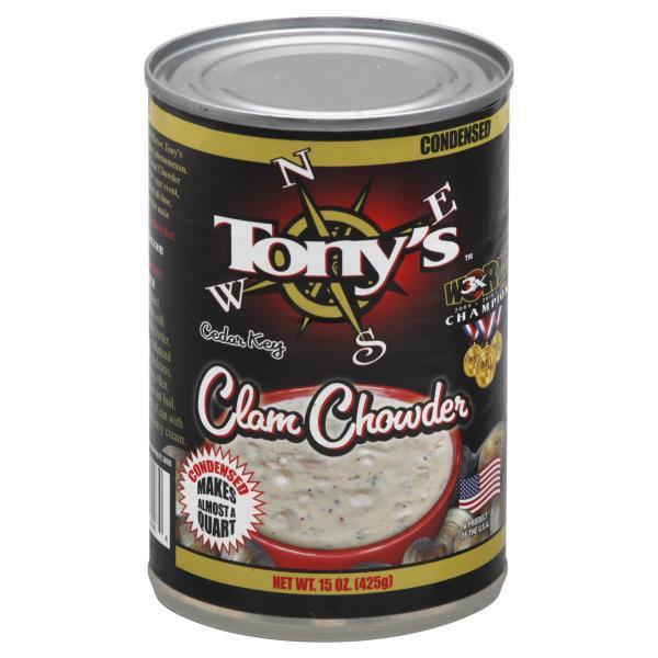 tonys cedar key chowder clam condensed publix com