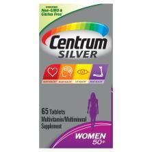 Centrum Silver Multivitamin/Multimineral, Women 50+, Tablets