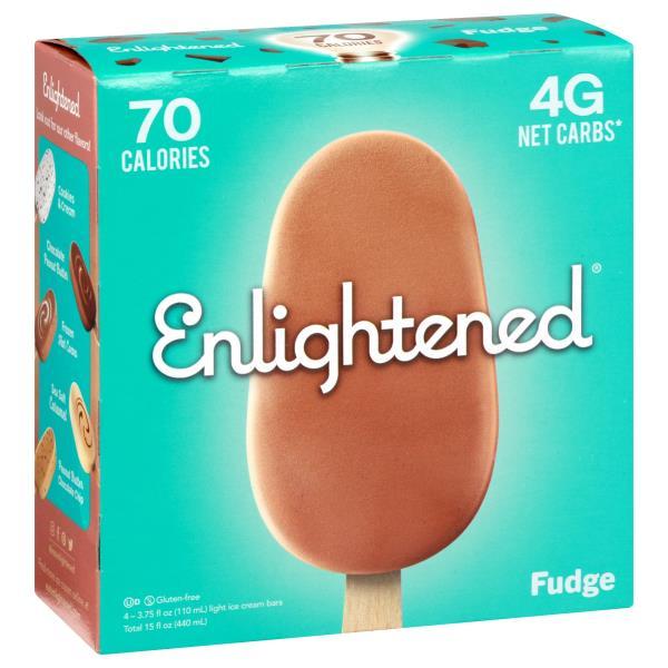 Enlightened Ice Cream Bars Low Fat Fudge