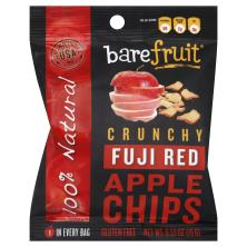 Bare Fruit Apple Chips, Crunchy, Fuji Red