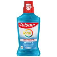 Colgate Total Pro-Shield Mouthwash, Antigingivitis/Antiplaque, Peppermint Blast