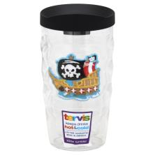 Tervis Tumbler, Wavy, Pirate Ship, 10 Ounce