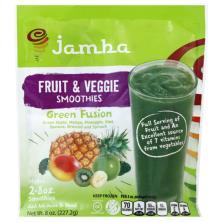 Jamba Juice Fruit & Veggie Smoothies, Green Fusion