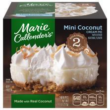 Marie Callenders Pies, Coconut Cream, Mini