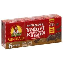 Sun Maid Yogurt Raisins, Dark Chocolate