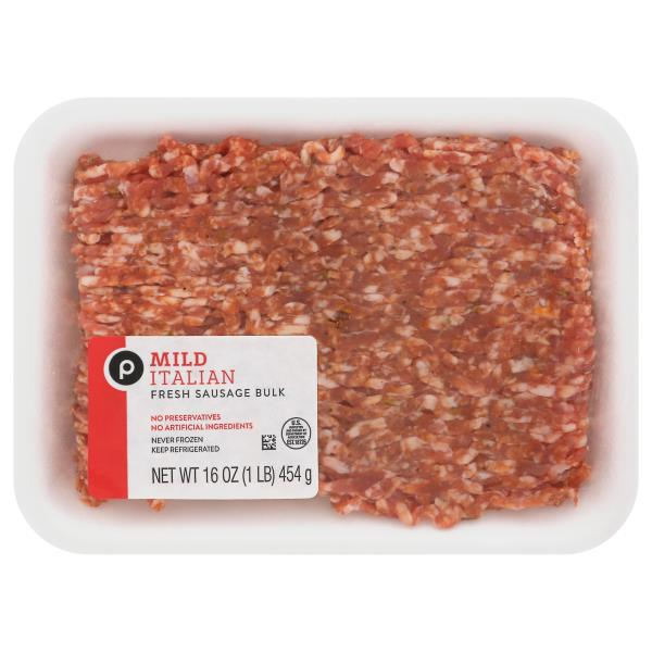 Publix Mild Italian Pork Sausage Ground, Our Exclusive