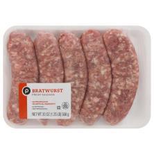 Publix Bratwurst Pork Sausage, Our Exclusive Recipe