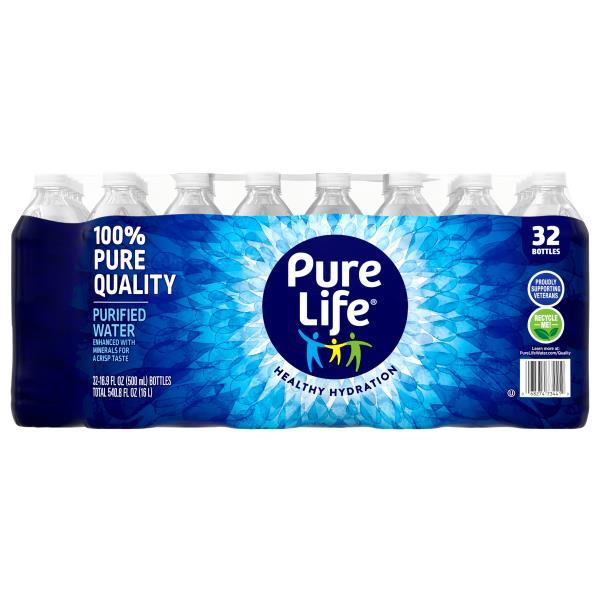 Nestle Pure Life Water, Purified : Publix com