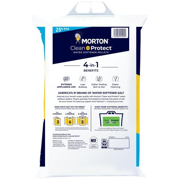 Morton Clean and Protect Water Softener Pellets : Publix.com
