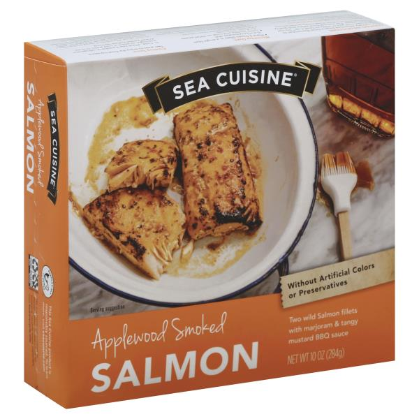 Sea Cuisine Salmon, Applewood Smoked