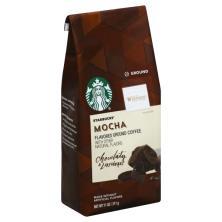 Starbucks Coffee, Ground, Mocha Flavored