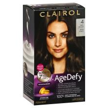Clairol Age Defy Permanent Color, Youthful Radiant, Dark Brown 4