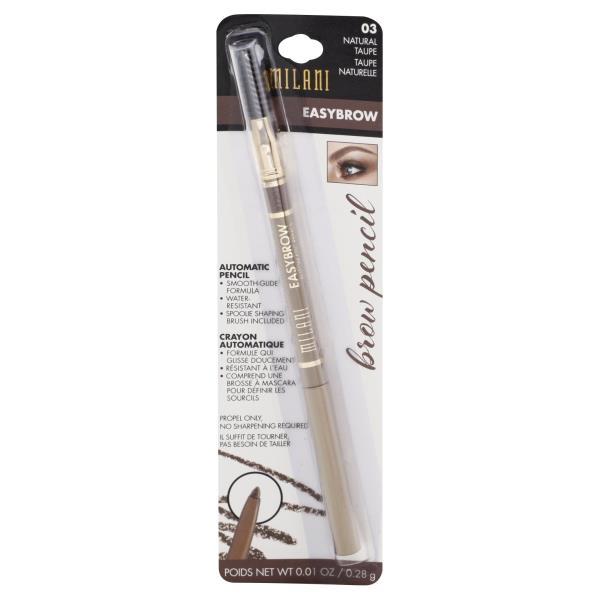 Milani Brow Pencil Easybrow Natural Taupe 03 Publix