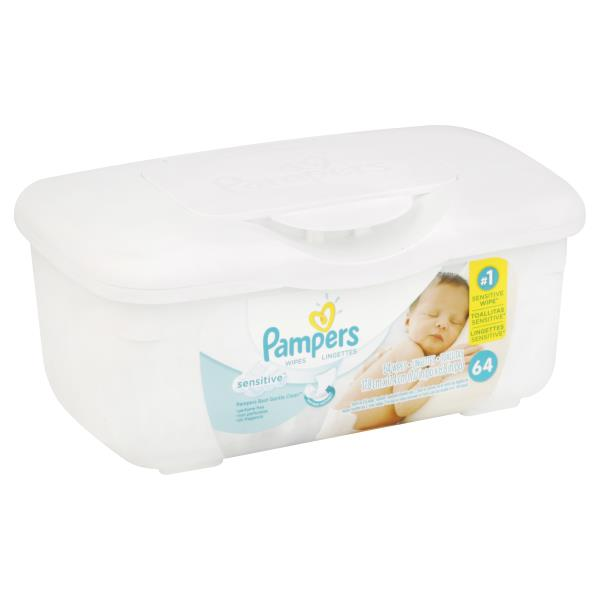 Pampers Wipes, Sensitive