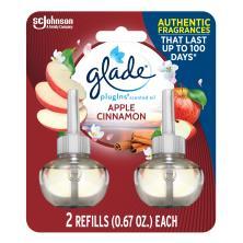 Glade PlugIns Scented Oil Refill, Apple Cinnamon