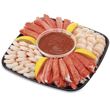 Shrimp & Surimi Platter, Small, 40 Oz Ready-To-Eat