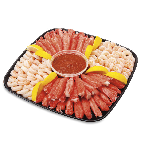 Shrimp & Surimi Platter, Medium, 64 Oz Ready-To-Eat
