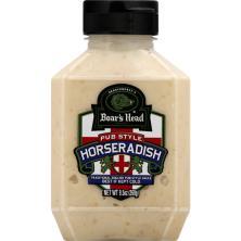 Boars Head Horseradish Sauce, Pub style