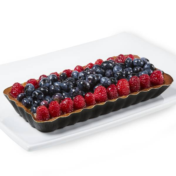 Oblong Berry European Cream Tart