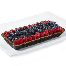 Oblong Berry European Cream Tart