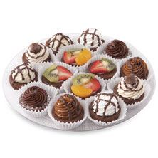 Brownie Bites Platter Small 15-Count