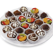 Brownie Bites Platter Medium 24-Count