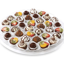 Brownie Bites Platter Large 36-Count