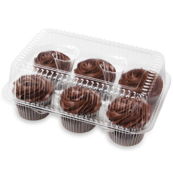 Fudge Iced Chocolate Cupcakes 6 Count Publix