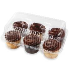 Fudge Iced Assorted Cupcakes, 6-Count